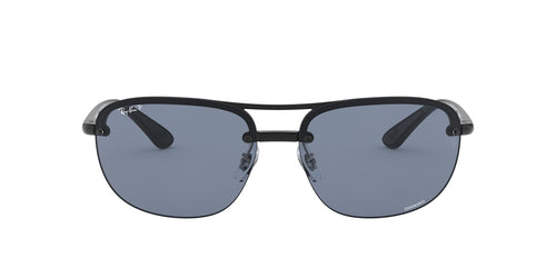 Ray Ban - Chromance Black Square Men Sunglasses - 63mm