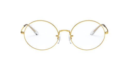 Ray Ban Rx - RX1970V Legend Gold Rectangle Unisex Eyeglasses - 51mm