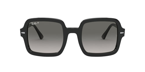 Ray Ban - RB2188 Black Square Women Sunglasses - 53mm