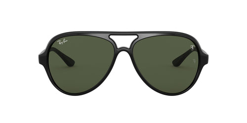 Ray Ban - Scuderia Ferrari Black Aviator Unisex Sunglasses - 57mm