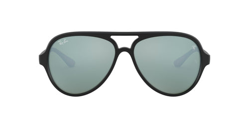 Ray Ban - Scuderia Ferrari Matte Black Aviator Unisex Sunglasses - 57mm