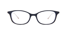 Matsuda - M2045 Black Tortoise/Clear Rectangular Women Eyeglasses - 50mm