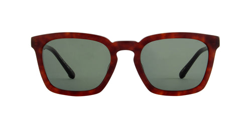 Matsuda - MXO-002 Matte Chestnut Square Men Sunglasses - 52mm