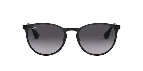 Ray Ban - RB3539 Black Oval Women Sunglasses - 54mm