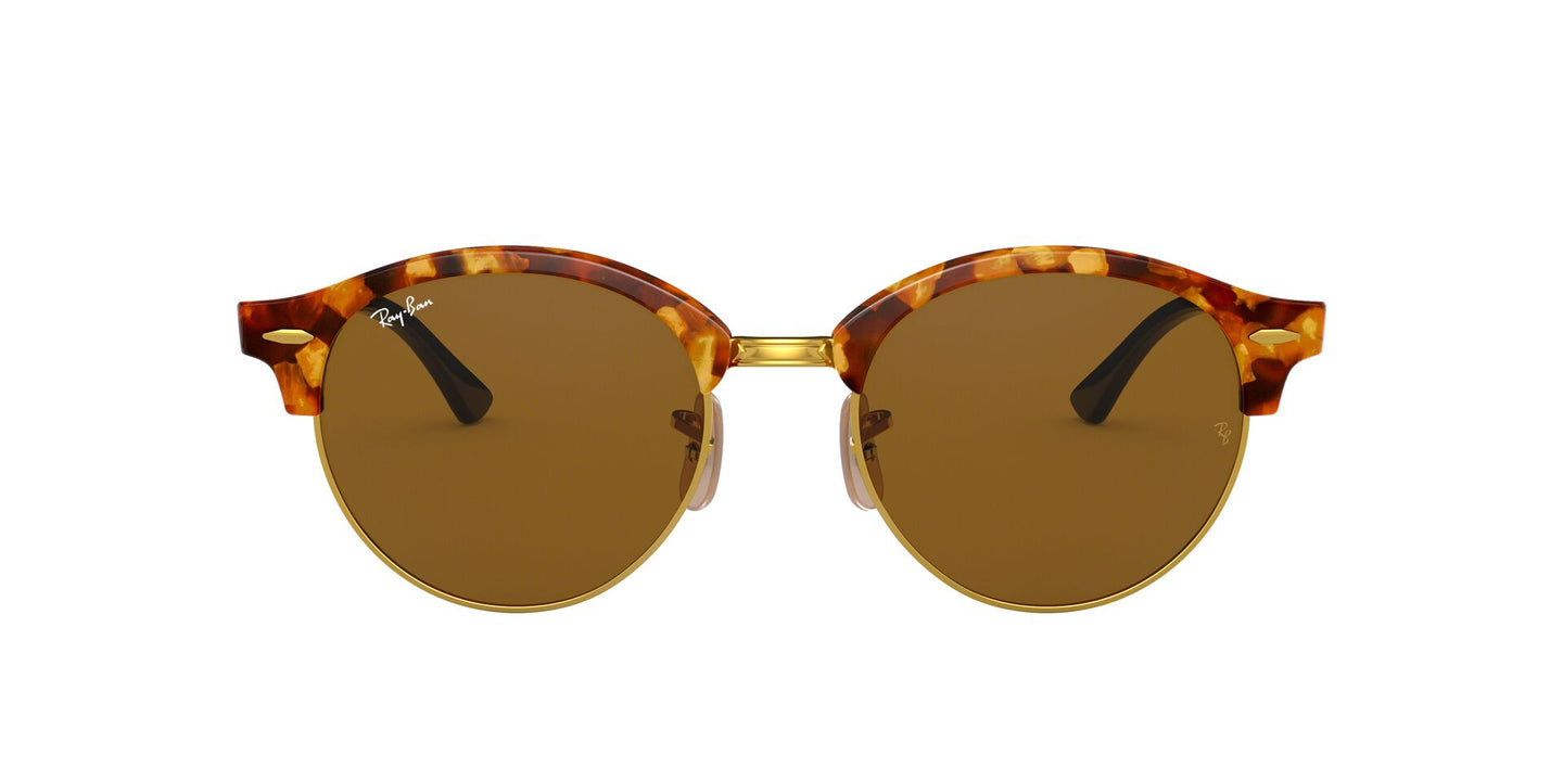Ray Ban - RB4246 Tortoise/Brown Oval Women Sunglasses - 51mm
