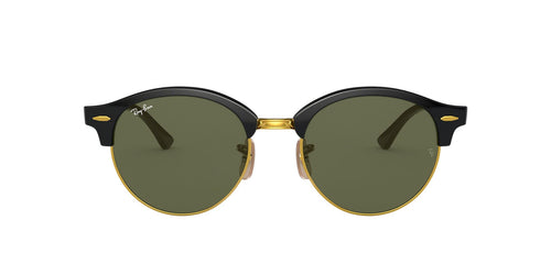 Ray Ban - RB4246 Black/Green Oval Unisex Sunglasses - 51mm