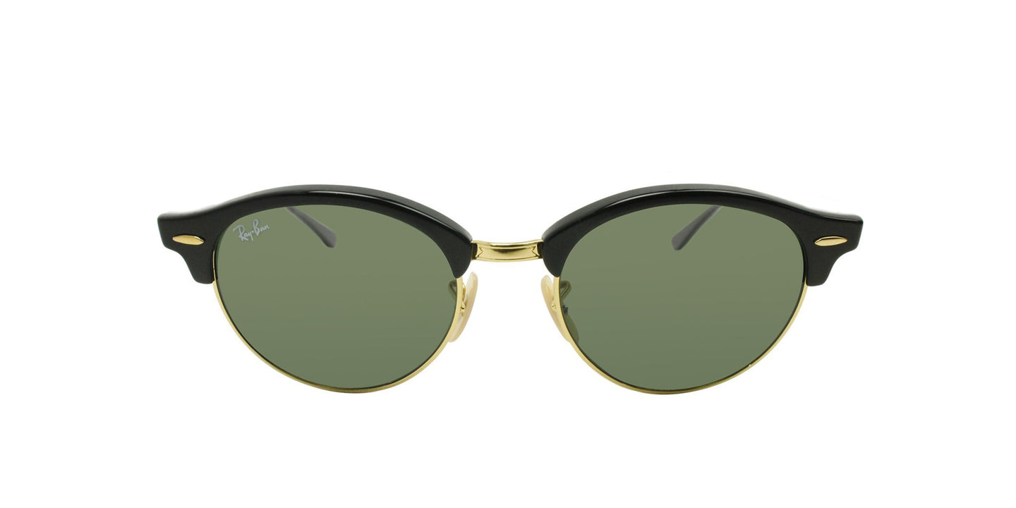 Ray Ban - RB4246 Gold Oval Unisex Sunglasses - 51mm