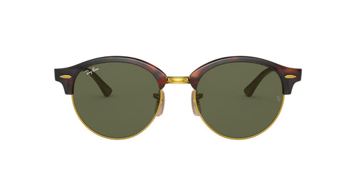 Ray Ban - RB4246 Tortoise/Green Oval Unisex Sunglasses - 51mm