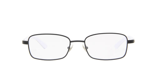 Ray Ban Jr - RY1037 Black/Clear Rectangular Unisex Eyeglasses - 47mm