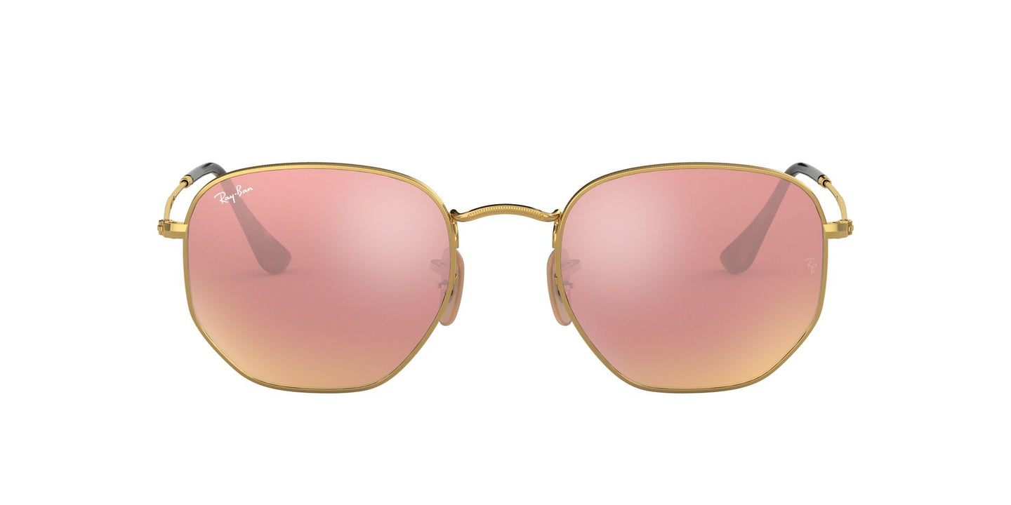 Ray Ban - RB3548N Gold/Copper Flash Irregular Unisex Sunglasses - 48mm