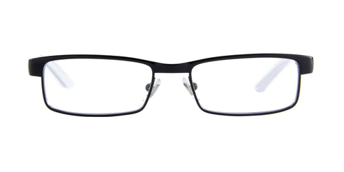 Ray Ban Jr - RY1032 Black/White Rectangular  Eyeglasses - 47mm