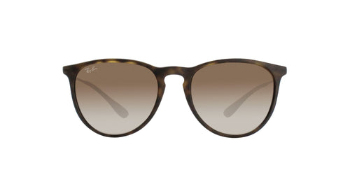 Ray Ban - Erika Brown Oval Unisex Sunglasses - 54mm