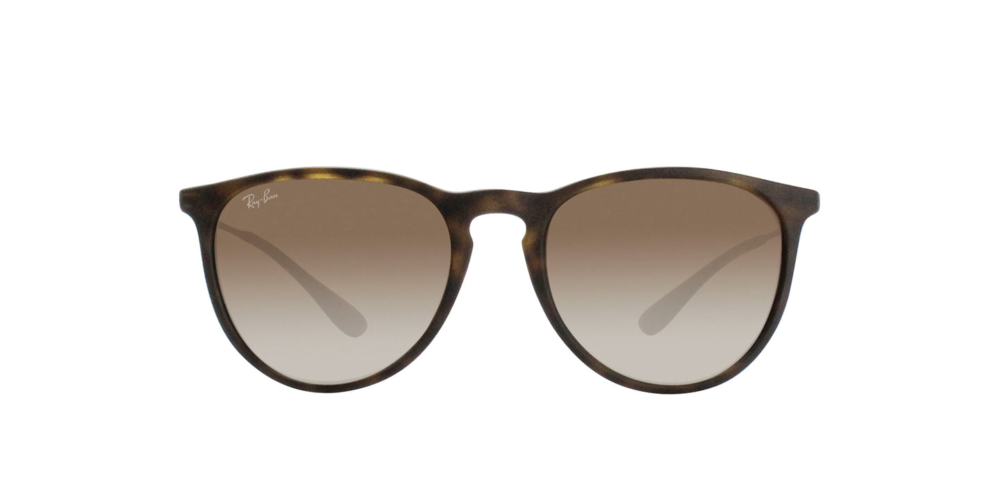 Ray Ban - Erika Brown/Brown Gradient Oval Unisex Sunglasses - 54mm