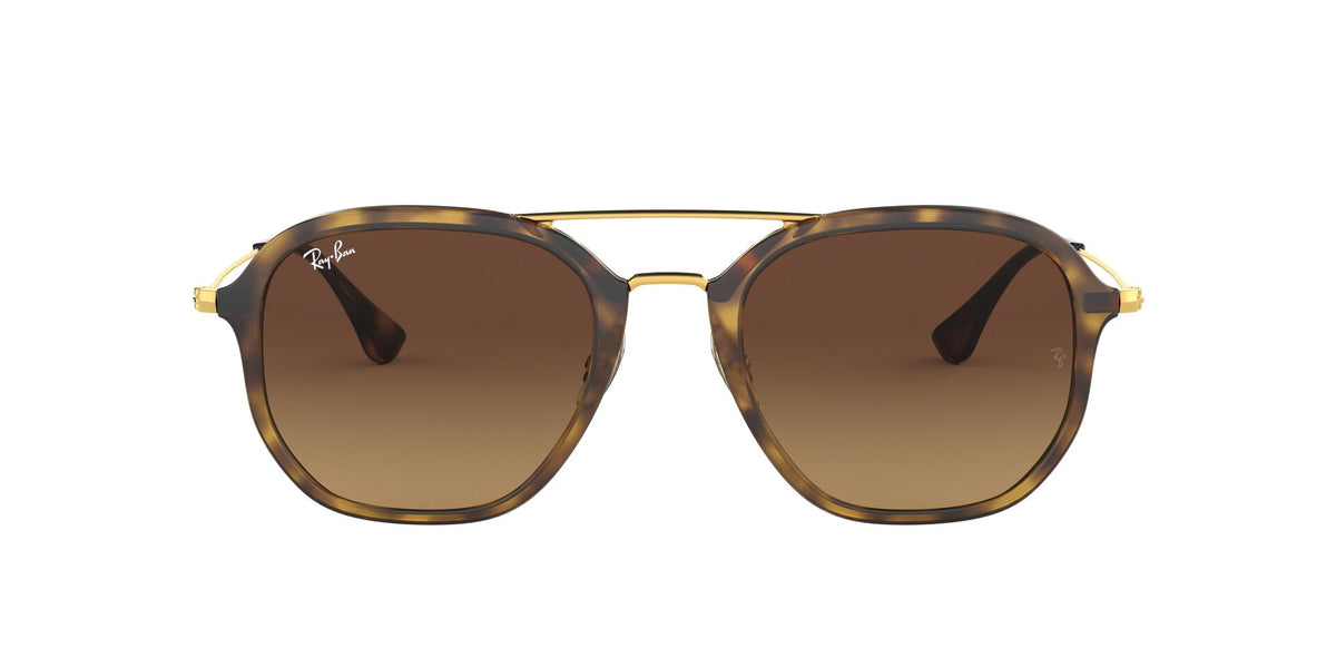 Ray Ban - RB4273 Tortoise/Brown Gradient Oval Unisex Sunglasses - 52mm