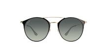 Ray Ban - RB3546 Black Oval Unisex Sunglasses - 52mm