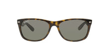Ray Ban - New Wayfarer Tortoise/Gray Polarized Unisex Sunglasses - 58mm