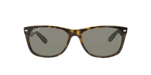 Ray Ban - New Wayfarer Tortoise Wayfarer Unisex Sunglasses - 58mm