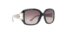 Salvatore Ferragamo - SF666/S Black/Grey Butterfly Women Sunglasses - 55mm