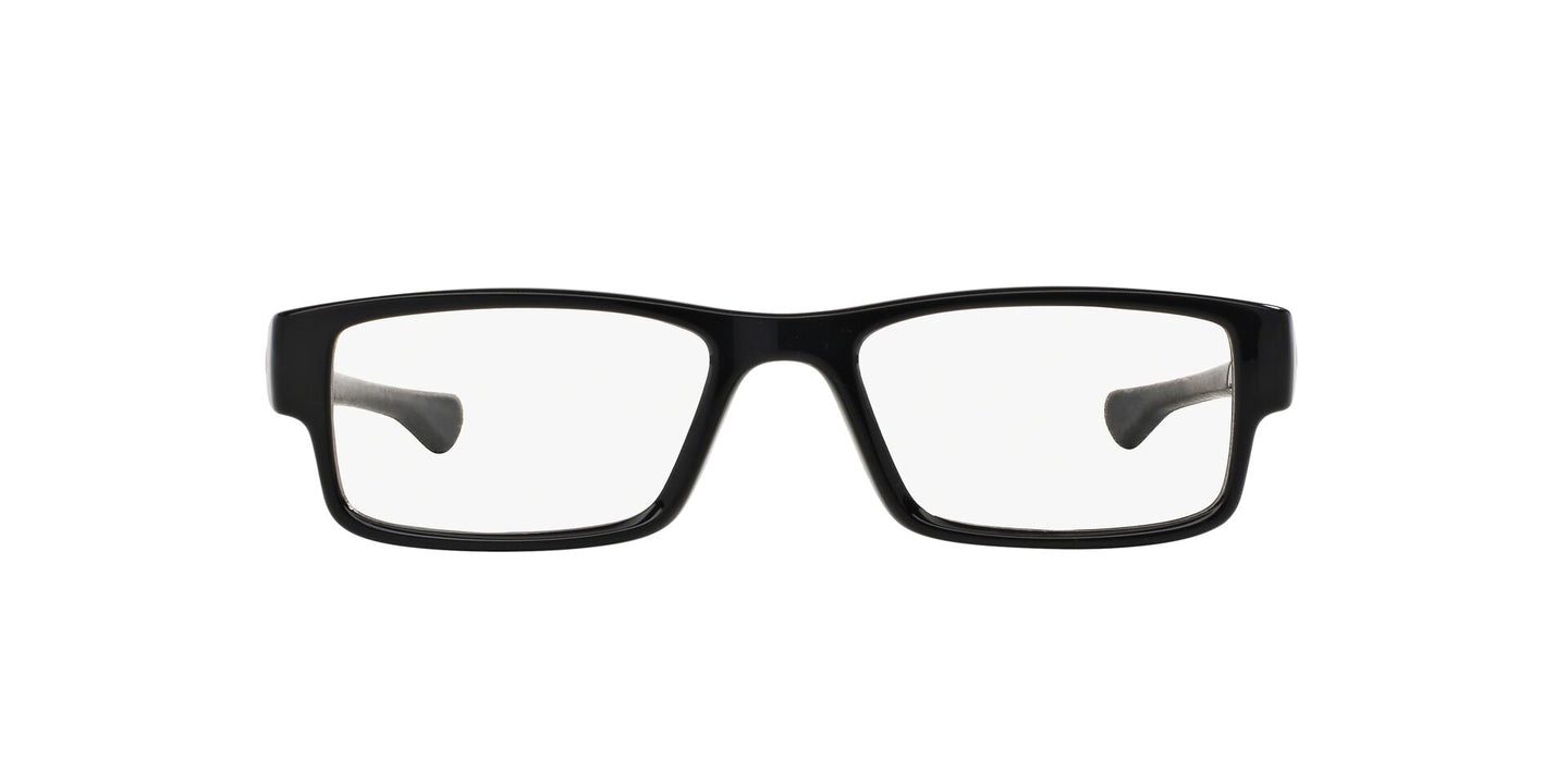 Oakley - OX8046 Black Ink Rectangle Men Eyeglasses - 55mm