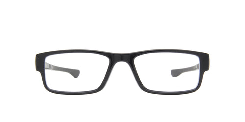 Oakley - Airdrop Gray/Clear Rectangular Men Eyeglasses - 53mm