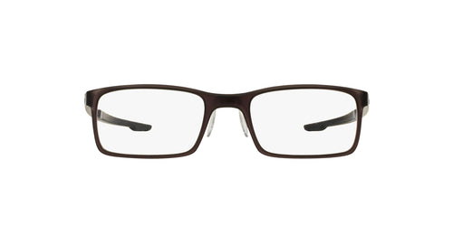 Oakley - Milestone 2.0 Matte Black Ink/Clear Rectangle Men Eyeglasses - 52mm