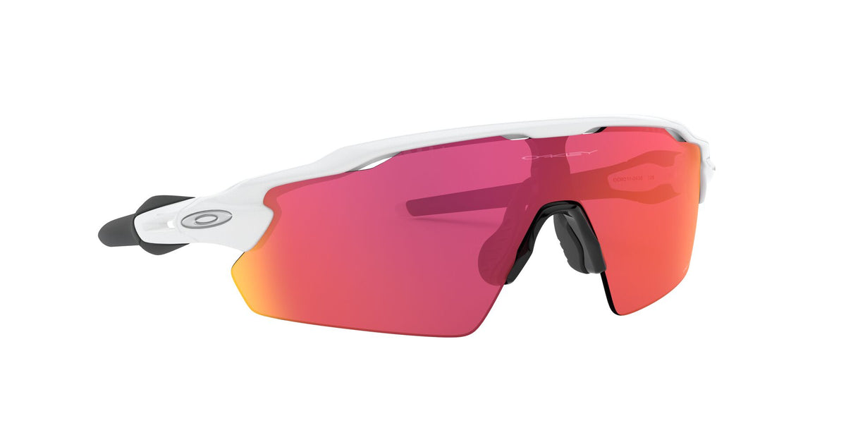 Oakley - Radar EV Pitch White/Purple Wrap Men Sunglasses 38mm