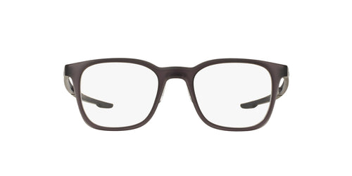 Oakley - Milestone 3.0 Matte Black Ink/Clear Square Men Eyeglasses - 49mm