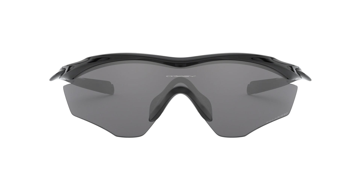 Oakley - M2 Frame XL Black/Gray Mirror Wrap Men Sunglasses - 45mm