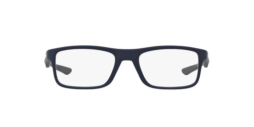 Oakley - OX8081 Softcoat Universal Blue Rectangle Unisex Eyeglasses - 53mm