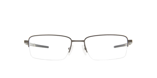 Oakley - Gauge 5.1 Matte Cement/Clear Rectangular Men Eyeglasses - 54mm