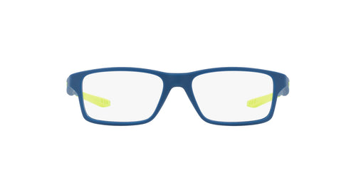 Oakley - Crosslink XS Satin Navy/Clear Square Men Eyeglasses - 51mm