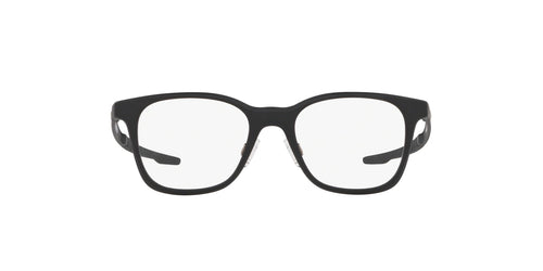 Oakley - Milestone XS Satin Black/Clear Round Men Eyeglasses - 45mm