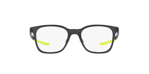 Oakley - Milestone XS Matte Black Ink/Clear Square Unisex Eyeglasses - 45mm