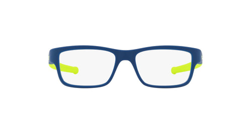 Oakley - Marshal XS Satin Navy/Clear Rectangle Men Eyeglasses - 47mm