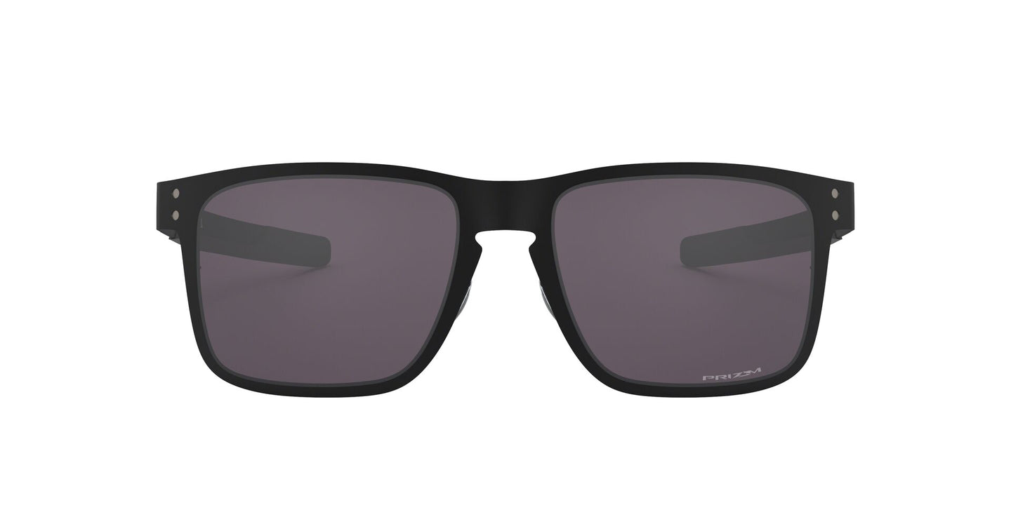 Oakley - Holbrook Metal Black/Purple Rectangular Men Sunglasses - 55mm