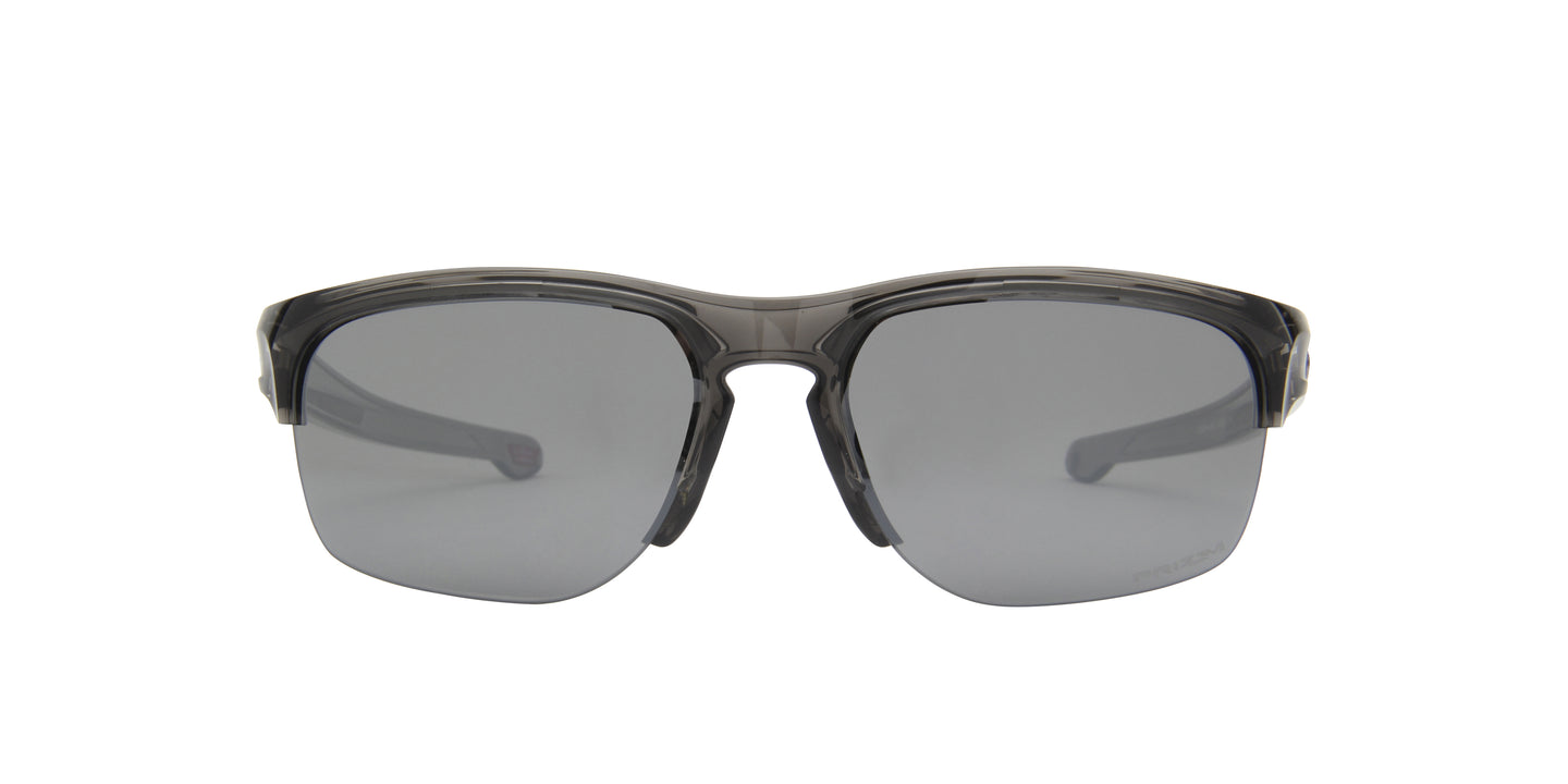 Oakley - Sliver Edge Grey Smoke/Prizm Black Square Men Sunglasses - 63mm
