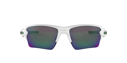 Oakley - OO9188 Polished White Rectangle Men Sunglasses - 59mm