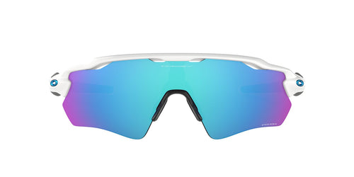 Oakley - OO9208 White Shield Unisex Sunglasses - mm