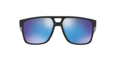 Oakley - Crossrange Patch Matte Black Prizmatic/Prizm Sapphire Rectangle Men Sunglasses - 60mm