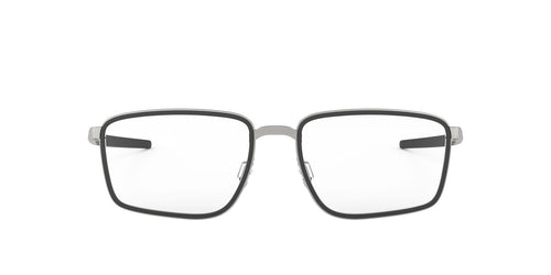 Oakley - Spindle Satin Black/Clear Square Men Eyeglasses - 54mm