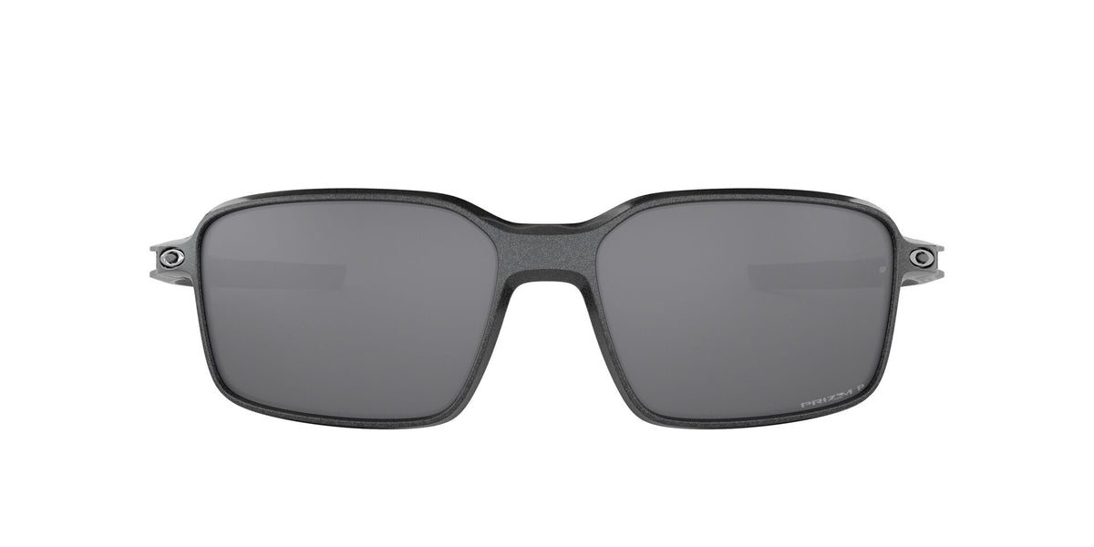 Oakley - Siphon Gray/Black Square Men Polarized Sunglasses - 64mm