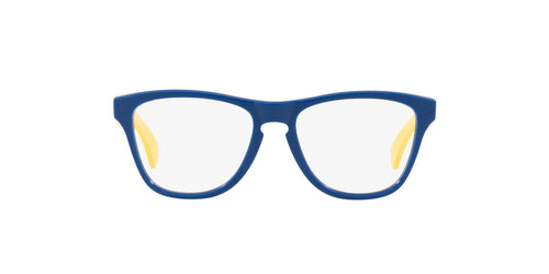 Oakley - OY8009 Polished Navy Blue Round Men Eyeglasses - 50mm