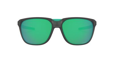 Oakley - Anorak Matte Grey Smoke/Prizm Jade Square Men Sunglasses - 59mm