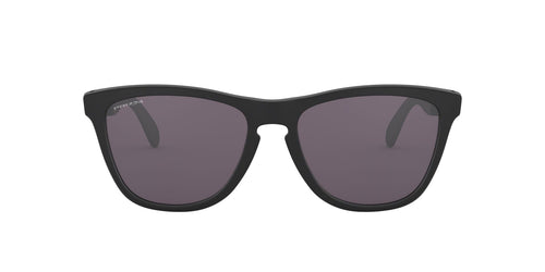 Oakley - Frogskins Mix Matte Black/Prizm Grey Cat Eye Unisex Sunglasses - 55mm