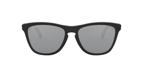Oakley - OO9428 Polished Black Round Men Sunglasses - 55mm