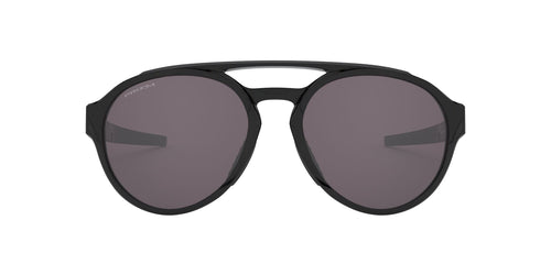 Oakley - Forager Black/Prizm Grey Round Men Sunglasses - 58mm
