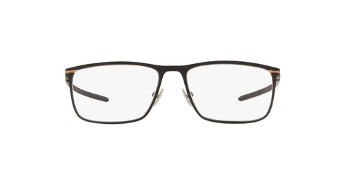 Oakley - Tie Bar Satin Black/Clear Rectangle Men Eyeglasses - 55mm