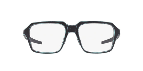 Oakley - OX8154 Satin Arctic Surf Square Men Eyeglasses - 54mm