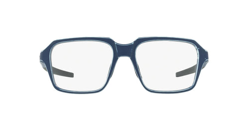 Oakley - Miter Satin Light Blue/Clear Square Men Eyeglasses - 54mm