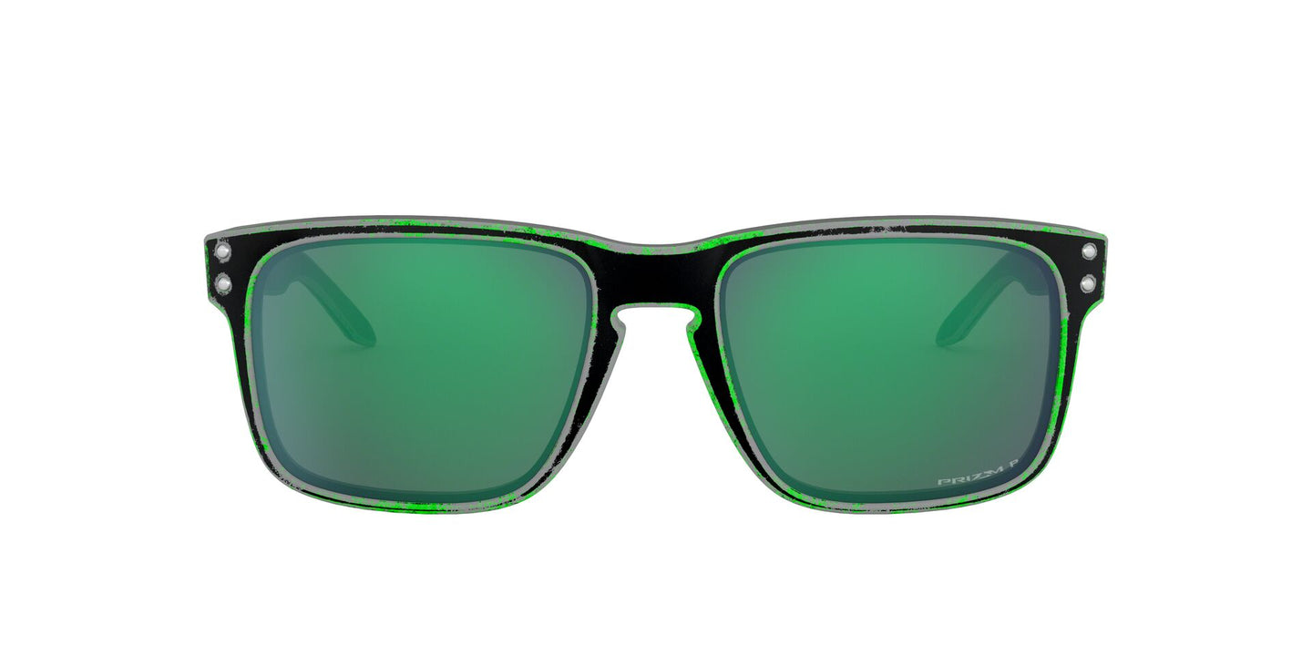 Oakley - OO9244 Raceworn Green Rectangle Men Polarized Sunglasses - 56mm